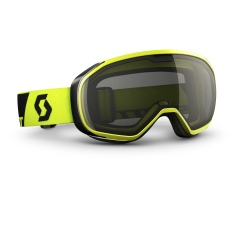 Scott FIX neon yellow / black chrome