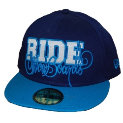 Ride Script New Era Fitted Cap
