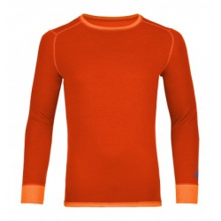 Ortovox 210 SUPERSOFT LONG SLEEVE M Crazy Orange