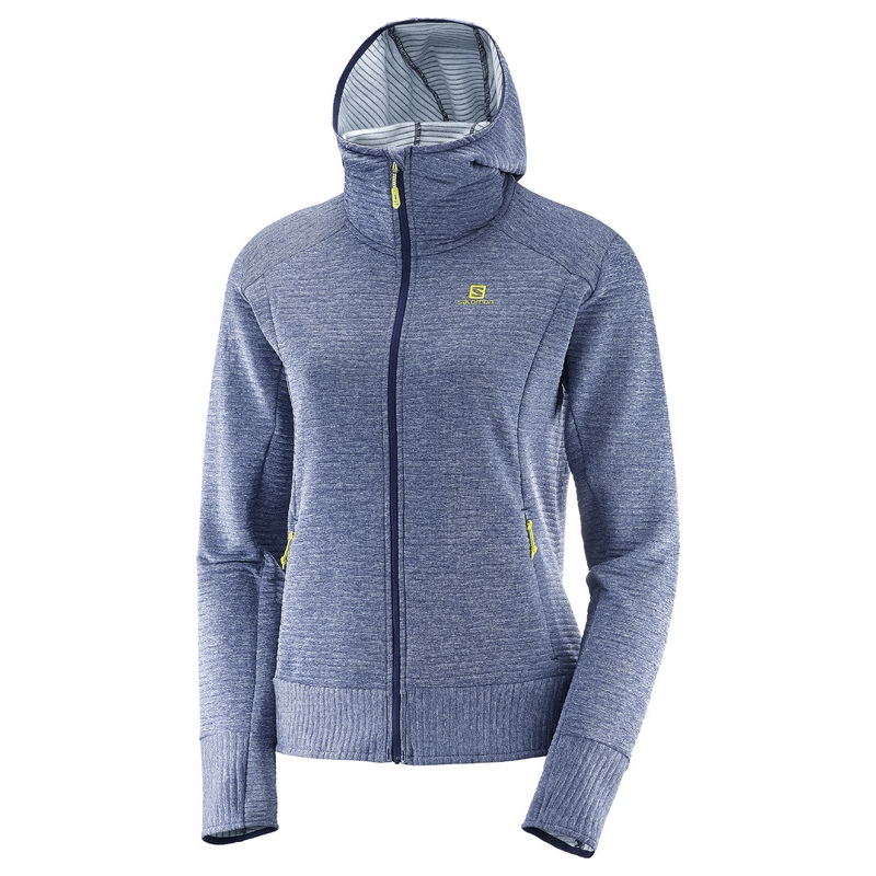 salomon right nice mid hoodie w speck sports. Black Bedroom Furniture Sets. Home Design Ideas