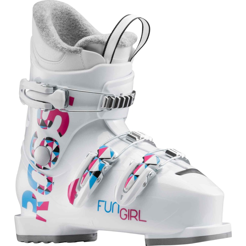 J3 Rossignol Sports Fun Speck white Girl qxOAxES