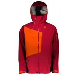 Scott JACKET VERTIC 3L Royal Red/Moroccan Red