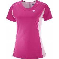 Salomon AGILE HEATHER TEE W