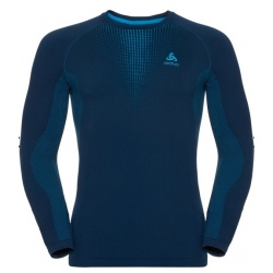 Odlo T-SHIRT PERFORMANCE WARM bleu