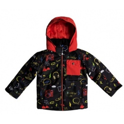 Quiksilver LITTLE MISSION VESTE rouge et noir