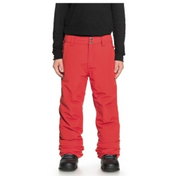 Quiksilver ESTATE PANTALON rouge