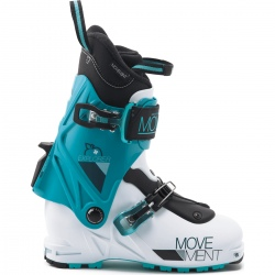 Movement EXPLORER WOMEN BOOT blanc/turquoise