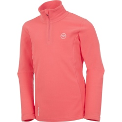Rossignol GIRL 1/2 ZIP FLEECE rose