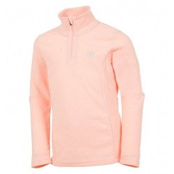 Rossignol GIRL 1/2 ZIP FLEECE rose clair