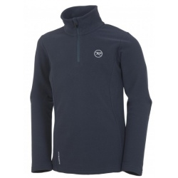 Rossignol GIRL 1/2 ZIP FLEECE noir