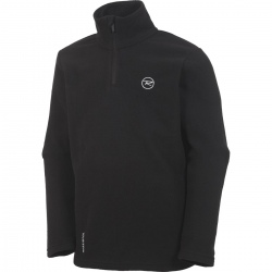 Rossignol BOY 1/2 ZIP FLEECE noir