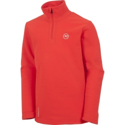 Rossignol BOY 1/2 ZIP FLEECE rouge