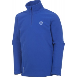 Rossignol BOY 1/2 ZIP FLEECE bleu