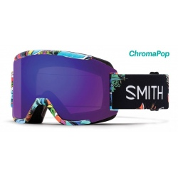 Smith Squad Black ChromaPop Sun Platinum Mirror