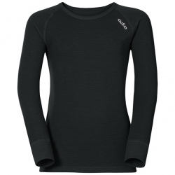 Odlo T-SHIRT ML WARM noir