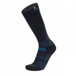 La chaussette de France ROCKIES WINTER noir/bleu