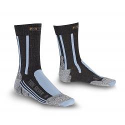 X-Socks TREKKING SILVER LADY anthracite/azur