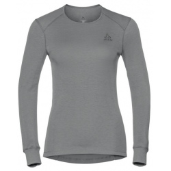 Odlo T-SHIRT ML ACTIVE WARM ORIGINALS gris mélangé