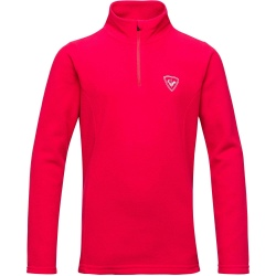 Rossignol GIRL 1/2 ZIP FLEECE bleu clair