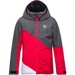 Rossignol GIRL SKI HEATHER JACKET rose wood
