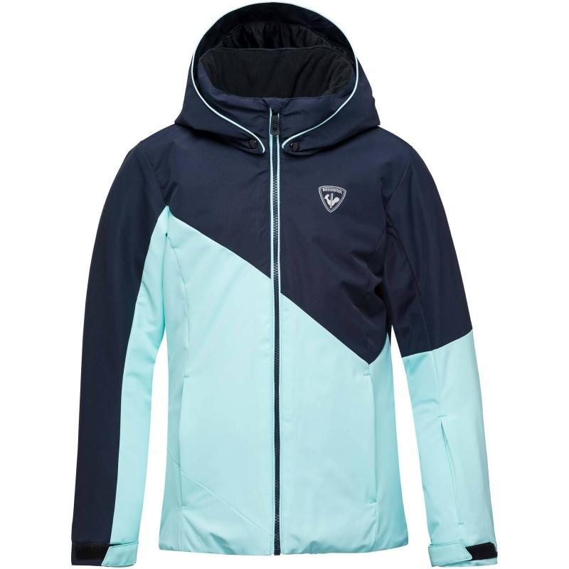 c1ffe3160466 Rossignol GIRL SKI JACKET blue stenci - Speck-Sports