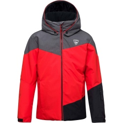 Rossignol BOY SKI HEATHER JKT rouge