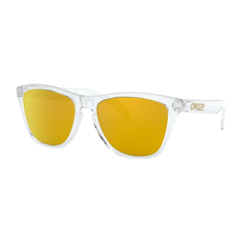 25495b4a51 Oakley Frogskins™ Crystal Collection Polished Clear 24k Iridium. Loading  zoom