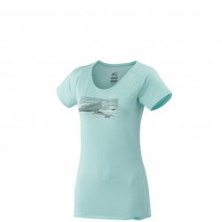 Millet LD SEVAN WOOL TS SS turquoise