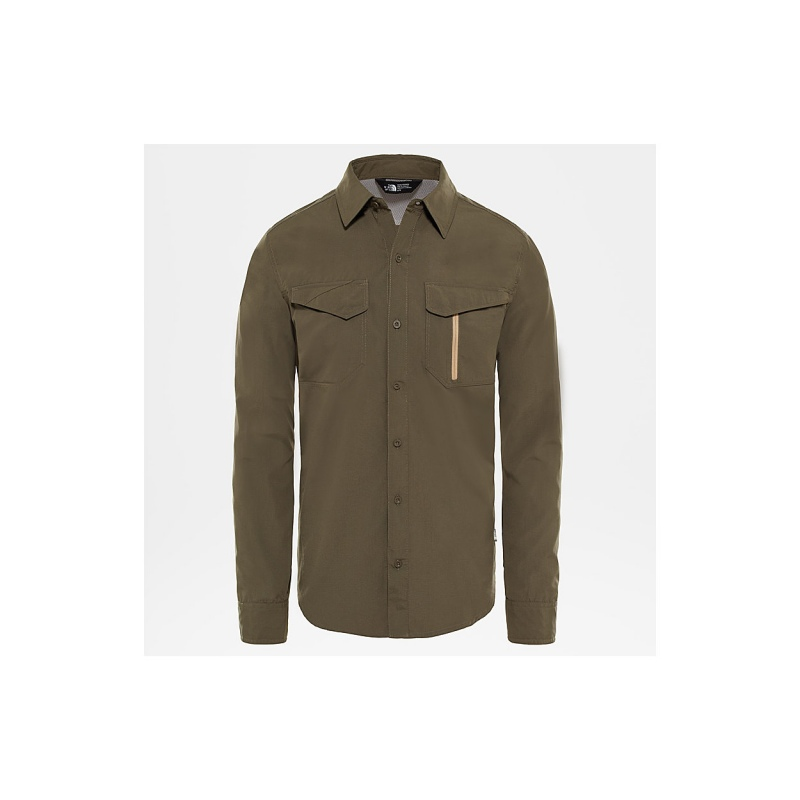 TheNorthFace L/S SEQUOIA ST new taupe