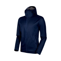 Mammut ULTIMATE V TOUR SO HOODED peacoat melange