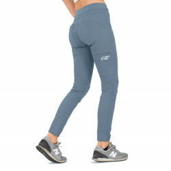 Looking for wild PANTALON D'ESCALADE FEMME citadel blue