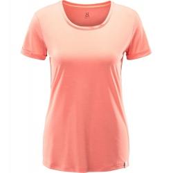 Haglöfs RIDGE HIKE TEE WOMEN coral pink