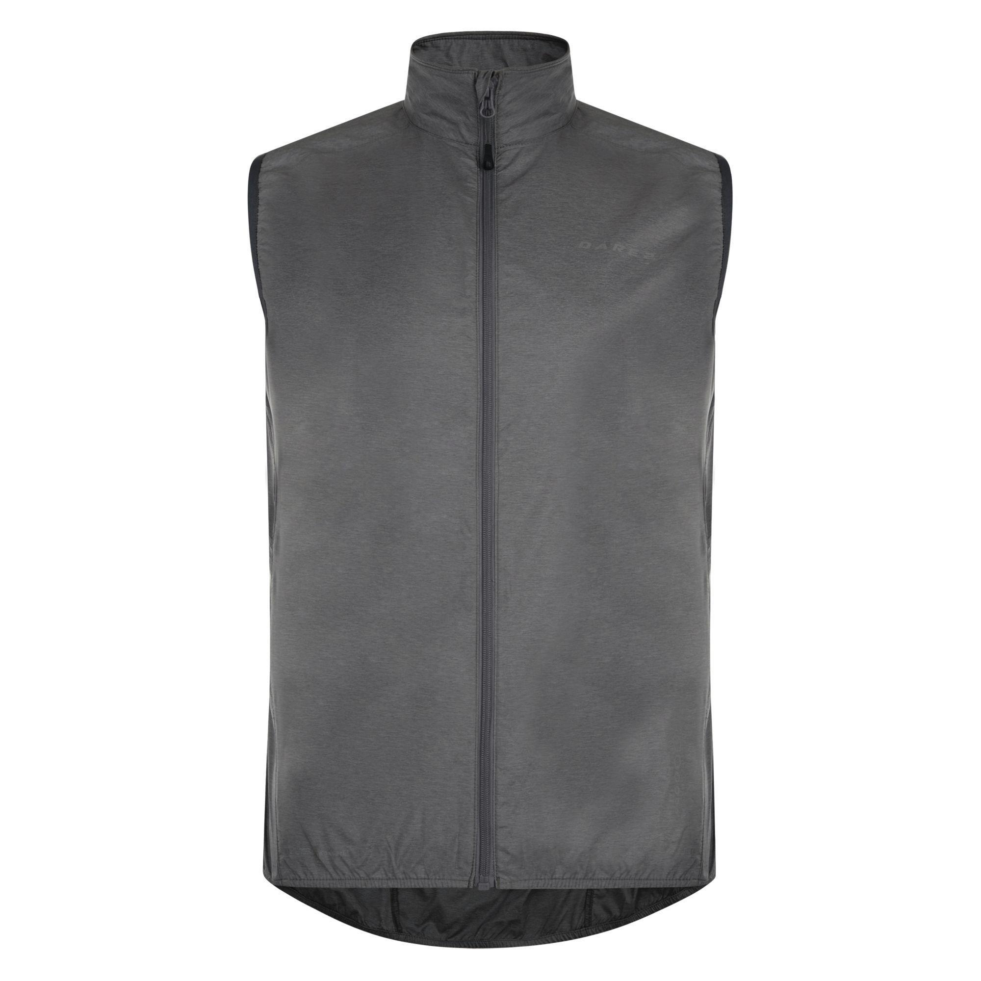 Dare2B Fired Up II Mens Windshell Jacket Grey
