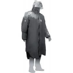 Vertical RESPIRE RAIN PONCHO gris