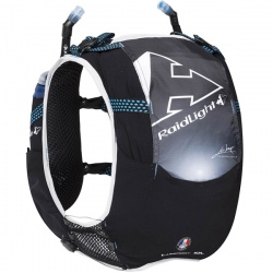 Raidlight RESPONSIV 10L black/electric blue