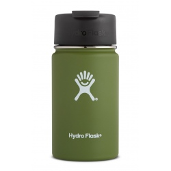Hydro Flask 12 oz Wide Mouth with Flip Lid Olive