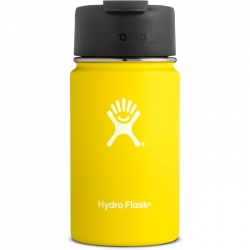 Hydro Flask 12 oz Wide Mouth with Flip Lid Lemon
