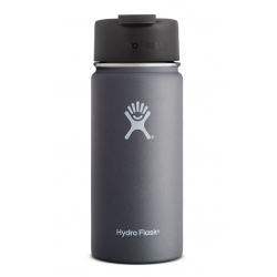Hydro Flask 16 oz Wide Mouth with Flip Lid Graphite