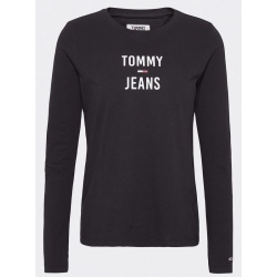 Tommy Hilfiger TJW SQUARE LOGO LONG tommy black