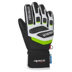 Reusch PRIME RACE R-TEX® XT JUNIOR black/white/neon green