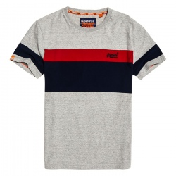 Superdry ORANGE LABEL CHESTBAND TEE downhill