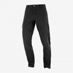 Salomon WAYFARER TAPERED PANT M Black/Ebony