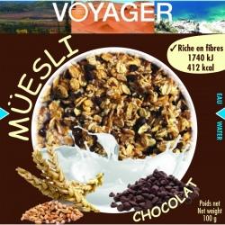 Voyager Muesli au Chocolat