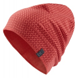 Haglöfs FANATIC PRINT CAP Rusty pink/Brick red