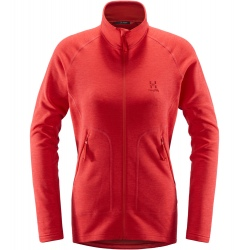 Haglöfs HERON JACKET WOMEN hibiscus red