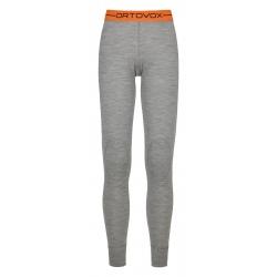 Ortovox 185 ROCK'N'WOOL LONG PANTS W grey blend