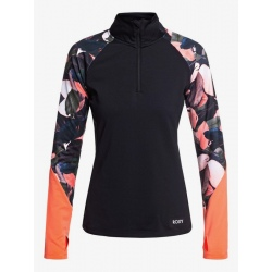 Roxy LEAD BY THE SLOPES LS living coral plumes