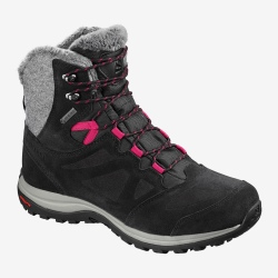 Salomon SHOES ELLIPSE WINTER GTX W Black/phantom/cerise