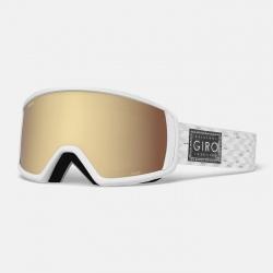 Giro Gaze White/silver Shimmer Ambr Gld