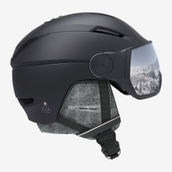 Salomon ICON² VISOR Black